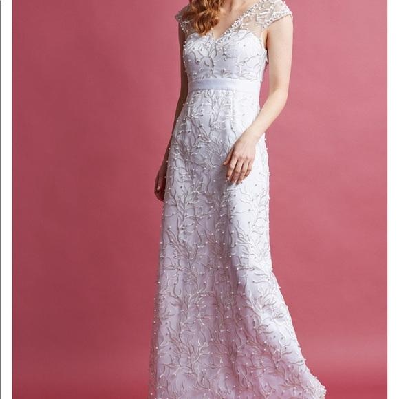 99b2dcfef239 Modcloth Dresses   Romantic Revelries Maxi Dress In White   Poshmark